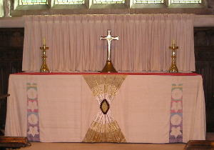 Picture of the main altar