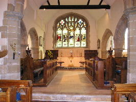 Photograph of the chancel