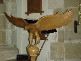 Photograph of the lectern