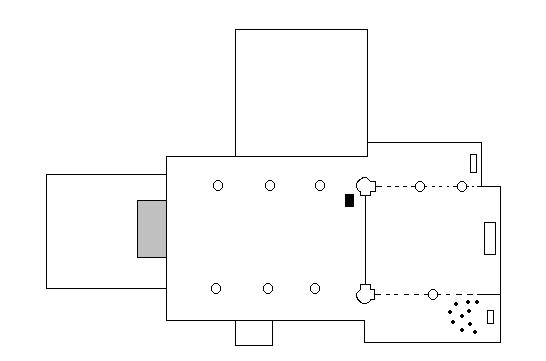 Clickable plan of the church