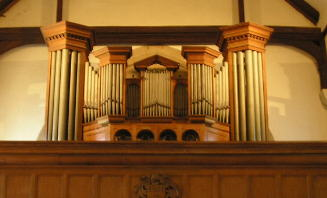 Photograph of the organ